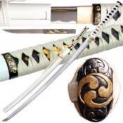 Musashi Handmade Zetsurin Samurai Katana Sword Sharp